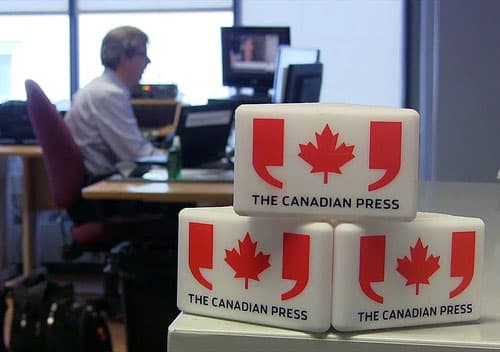 The Canadian Press newswire desk