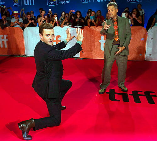 Justin Timberlake at The Tennessee Kids premiere at TIFF