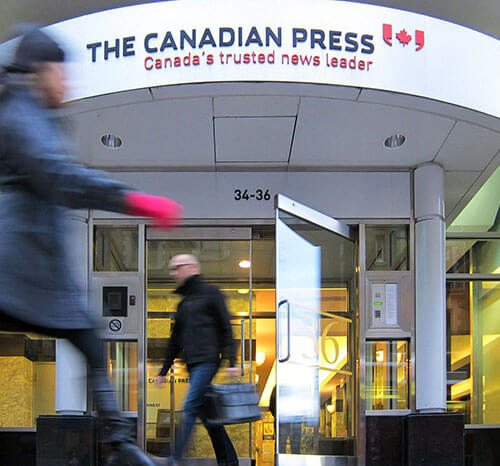 The Canadian Press Head Office.