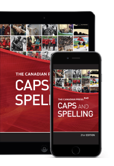 Online Caps and SpellingImage