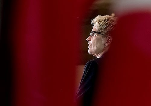 Picture of Kathleen Wynne.