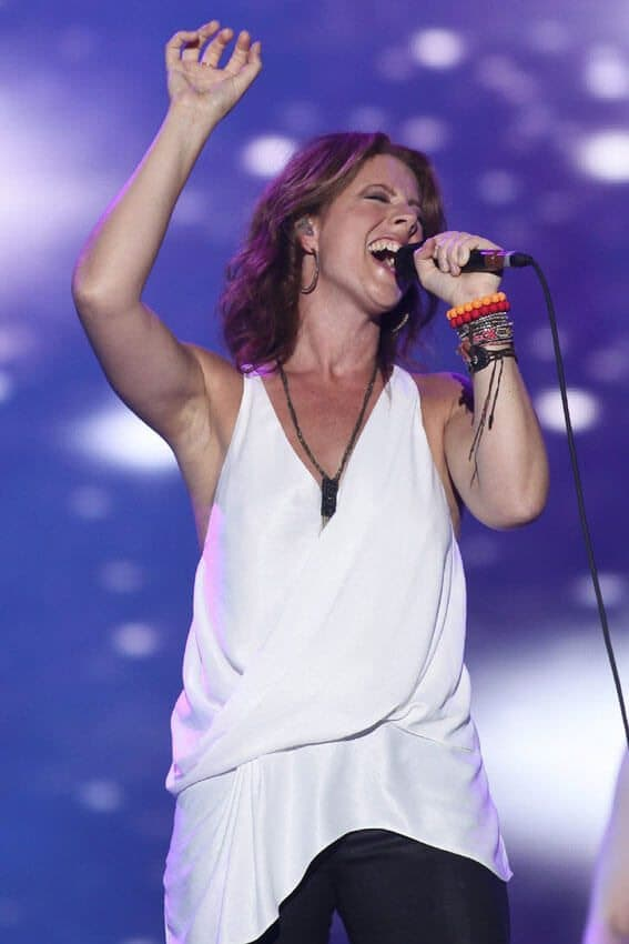 Event: Sarah McLachlan performs at the 45th Festival d'ete de Quebec on the Plains of Abraham in Quebec city Friday July 13, 2012. The Festival d'ete de Quebec is Canada's largest music festival with more than 1000 artists and close to 300 shows over 11 days. The Canadian Press Images PHOTO/Festival d'ete de Quebec.