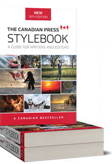The Canadian Press StylebookImage