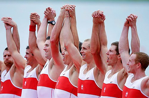 Canadian men's eight Olympic rowing team
