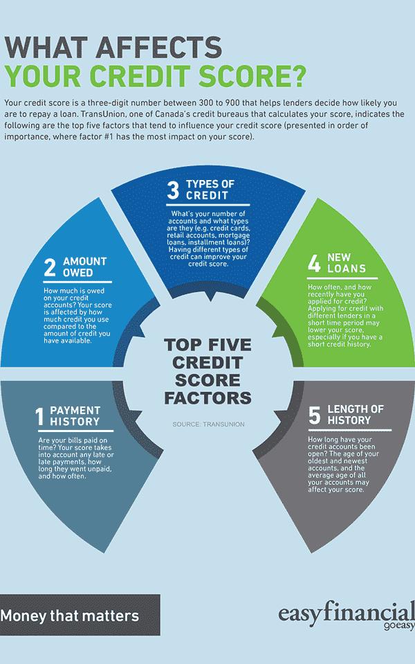 goeasy credit score infographic sample