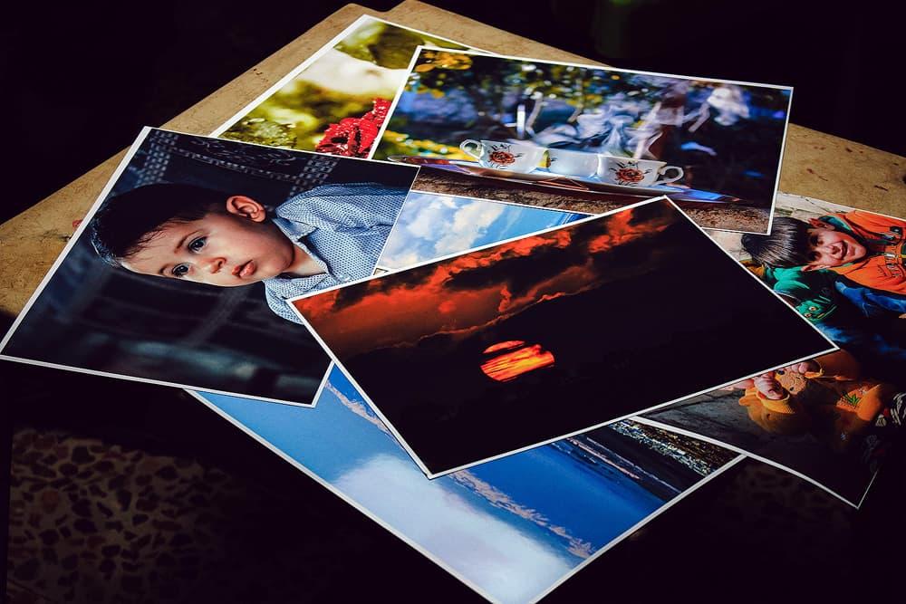 Custom photo examples