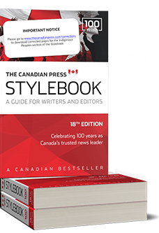 CP Stylebook (18th ed. discounted)Image