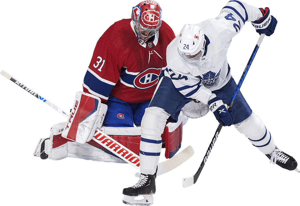 Toronto and Montreal hockey players