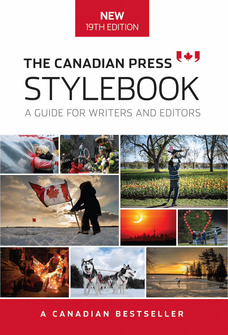 The Canadian Press Stylebook