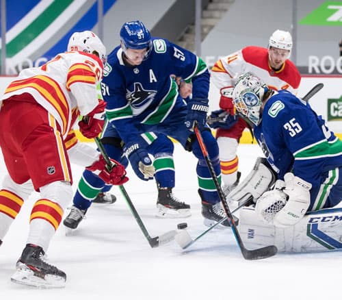 Vancouver Canucks goalie